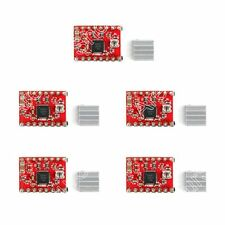 5PCS A4988 Stepper Driver With Heatsink For 3D Printer Compatible To Arduino