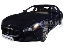 2015 MASERATI QUATTROPORTE GTS PASSION BLUE 1/18 DIECAST MODEL BY AUTOART 75807