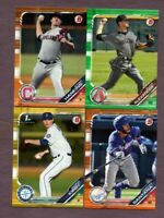 Lot of (29) 2019 Bowman Draft  Green - Blue - Purple - Orange - Gold - Sky Blue