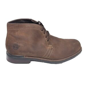 Timberland Chukka Boots Mens Size 13 Brown Suede Shoes 86573 4378 Lace Up