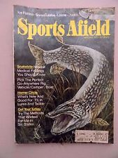 Sports Afield January 1973- Ice Fishing, Snowmobiles, Loons and Ducks