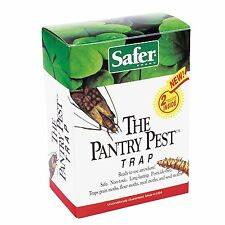 Safer Brand 05140 The Pantry Pest Trap, 2 Moth Traps, 1000 sq-ft *
