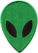 Alien extraterrestrial ET ufo flying saucer applique iron-on patch S-1184