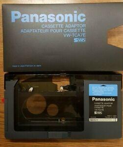 PANASONIC > VW-TCA7E < VHS-C / SVHS-C ADAPTER