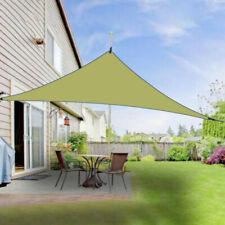 Shade Triangle Canopy Cloth Tarpaulin Outdoor Garden Patio Yard Sunscreen Awning