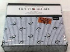 Tommy Hilfiger Easy Care Shark Hammer Shark Classic Stripes King Sheet Set New