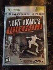 Tony Hawk's Underground (Xbox, BRAND NEW, Platinum Hits)