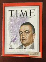 J. Edgar Hoover - FBI - Law Enforcement - 1949 TIME Magazine