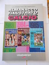 almanacco illustrato del calcio 1983/84/85 - riproduzione gazzetta dello sport