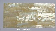 """Gold Mother of Pearl Shell Veneer Sheet.(.006"""" of an inch thick )"""