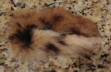 NEW LYNX SPOTTED FUR BARRETTE HAIR CLIP