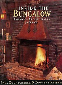 American Arts & Crafts Bungalow Interior Design Furnishings Etc. / In-Depth Book
