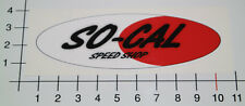 SO CAL SPEED SHOP Aufkleber Sticker Oldschool V8 Hot Rod Parts Power USA Mi032