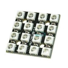 RGB LED 4 x 4 16Bit WS2812 5050 RGB LED + Integrated Drivers For Arduino