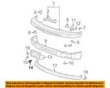 GM OEM-Fender Liner Retainer 11518017