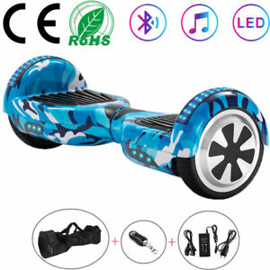 Hoverboard 6.5 Inch Self Electric Scooters Flash 2Wheels Bluetooth Balance Board