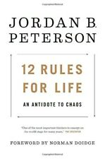 512 Rules for Life: An Antidote to Chaos Book by Jordan Peterson [Hardcover] 201