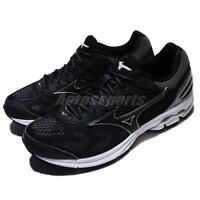 Mizuno Wave Rider 21 Black Grey Women Running Shoes Trainers Sneaker J1GD18-0309