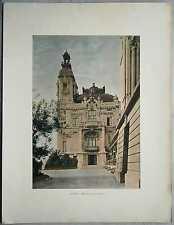 ca.1895 French photochrom CASINO, MONTE CARLO, MONACO (#248)