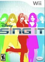 Disney Sing It (Nintendo Wii, 2008) Complete With Manual