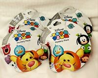Lot of 4 Disney Tsum Tsum Mystery Blind Stack Pack Wave Series 4