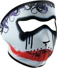 ZANheadgear Motorcycle Bike Ski Snowboard Neoprene Full Face Mask Clown WNFM062