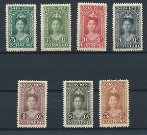 [8934] Curacao 1923 good set very fine MH stamps value $350