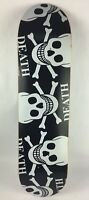 "Death Alternate Skulls deck - Death Skateboards 8.0 "" GRIPPED & free shipping C2"