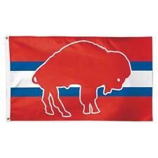Buffalo Bills Vintage Retro Throwback Large Outdoor Flag