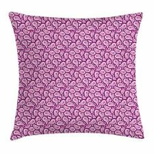 Magenta Throw Pillow Cases Cushion Covers Ambesonne Home Decor 8 Sizes