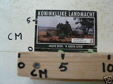 STICKER,DECAL KONINKLIJKE LANDMACHT,ARMY, HOUWITSER M109 VELDARTILLERIE B