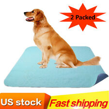 """2Pack Pet Puppy Pee Pads Washable Reusable Dog Training Pee Pads 36""""*41"""""""