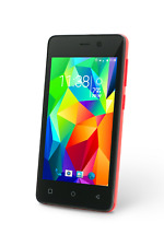 "New SP4023-RD Slide Dual Sim 4"" Unlocked Smartphone Quad Core 1.3GHz  8GB 3G GSM"