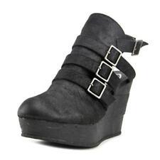 Zapatos de tacón de mujer de color principal negro sintético Talla 38.5
