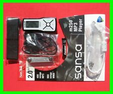 SanDisk Sansa m250 2 GB MP3 Player Complete *Brand New* Uses One AAA Battery-USA
