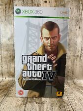 Édition collector XBOX 360 Grand theft auto IV Liberty City Box Seulement
