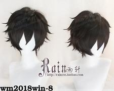 Game Persona 5 Hero Kyoya Hibari Rin Okumura Houtarou Black Short Cosplay Wig