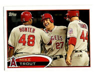 Mike Trout 2017 Rediscover Topps Promo 2012 Style NM/MT L.A. Angels