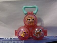 Littlest Pet Shop ~Baby Hamsters Petriplets with Carrier~  New Loose