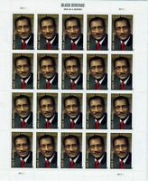 John H. Johnson Full Sheet of 20 Forever Stamps Scott 4624