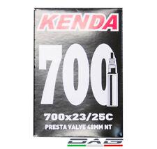 kenda Camera D'aria Bici da Corsa 700x23-25 valvola 48mm