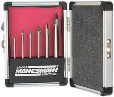 Kit punte da trapano per vetro Brueder Mannesmann Werkzeuge, Kit da 6 pezzi
