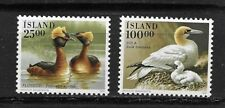ICELAND 1991 BIRDS set of 2  MINT NH