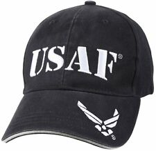 9886 Rothco Vintage USAF Low Profile Cap - Navy Blue & White