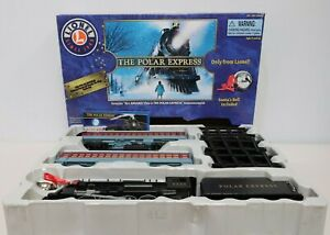 Lionel THE POLAR EXPRESS Train Set w/ Lights Sound 7-11824 Boxed Ex £250 - 232