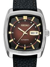 SEIKO RECRAFT SERIES AUTOMATIC WATCH WITH STAINLESS STEEL& LEATHER STRAP SNKP25