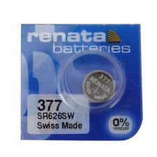 OXYDE D'ARGENT réf: 376 / SR626W / SR66 / V376 / 619 / MA /RENATA377