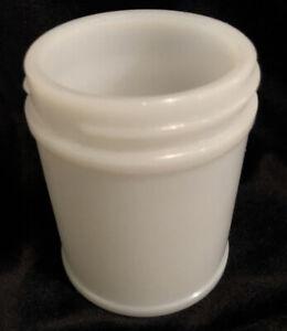 Vintage VEGEMITE Milk Glass Jar No Lid