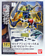 Bandai Iron-Blooded Orphans Option Set 8 & Sau Mobile Worker 1/144 Scale kit