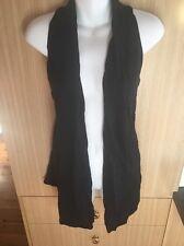Vigorella Black Cotton Racer Back Vest